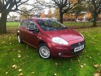 2008 FIAT PUNTP 1.2 PETROL ** NEW MOT ( NO ADVISORY ) ** ONLY 64000 MILES ( WARRANTED )