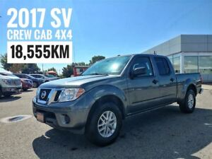 2017 Nissan Frontier SV Crew Cab 4x4  FREE Delivery