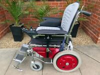 Invacare Pioneer electric powered mobility wheelchair cheap part exchange
