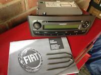 Blaupunkt Fiat grande punto stereo