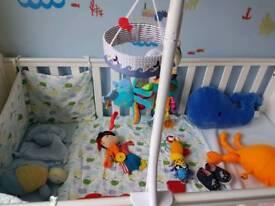 Nursery bedding bundle