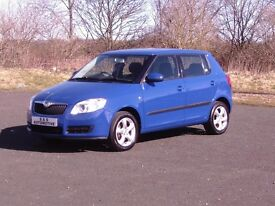 2008 SKODA FABIA 16V AUTOMATIC 5 DOOR 12 MONTHS M.O.T 6 MONTHS WARRANTY (FINANCE AVAILABLE)
