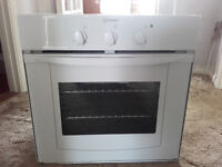Small Indesit eyelevel oven & grill