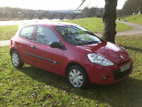 2009 RENAULT CLIO 1.2 ONLY 37,000 MILES 12 MONTHS MOT.......................................£2500