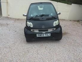 Smart convertible car