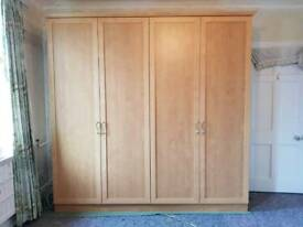 Solid wood wardrobes for sale