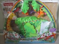 Rainforest Melodies and Lights Deluxe Gym - Fisher Price
