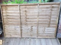Single fence panel