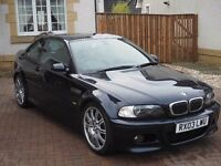 BMW E46 M3 SMG 2003 Carbon Black