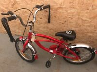 Red bike for sale - Child's