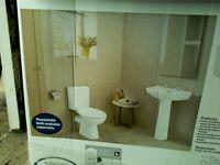Plumbsure Truro bathroom suite