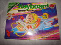 Keyboard book 3 with cd