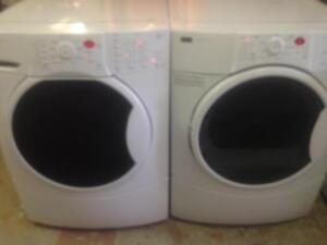 35- Laveuse Sécheuse Frontales  KENMORE  HE3  Frontload Washer Dryer