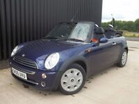 2005 MINI Convertible 1.6 Cooper 2dr Over £2500 Worth Of extras, Finance Available May Px
