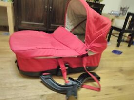 Micralite cot red