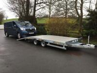 Transporter trailer 14x6,6 Lowloader plant trailer breakdown recovery dale kane