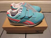 ONLY £10 - Childrens Girls Reebok Royal Classic Trainers - 11 . 5 SIZE 11.5 Pink Blue Whte