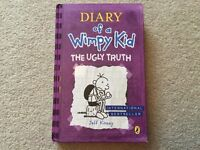 Diary of A Wimpy Kid The Ugly Truth by Jeff Kinney hardback book New