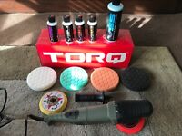 Torq 10 FX car polishing starter kit