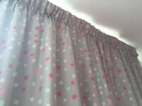 £30 - Grey Pencil Pleat Curtains - Marks & Spencer