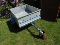 Small Erde Trailer 3.5ft x 3ft. Good condition with spare wheel