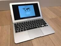 Macbook Air 11 inch mid 2011, few dents, refubished brand new battery