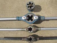 conduit pipe threadering