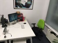 Office desk / Space for hire in central Glasgow (must be a creative)