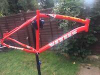 Vitus zircon alloy mountain bike frame was £1000 bike