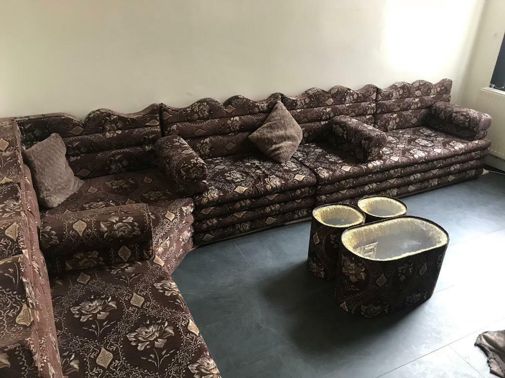 Arabic Sofas 1 Month Old In Manchester City Centre
