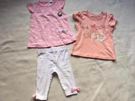 Baby bundle 3 items 3/6 new £2
