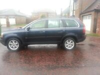 Volvo xc 90 2.4 diesel auto 4wd Excellent condition,7 seater,2 owners from new,full service history.