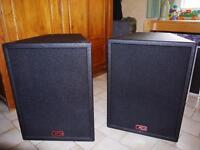 """Peavey UL 15"""" speakers"""