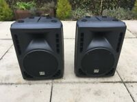 "LD Systems Pro 10A 10"" Active PA Speakers Pair 200 Watts Each"