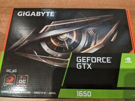 Gigabyte GeForce GTX 1650 4GB OC GPU