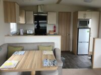 ABI Hudson, luxury 3 bedroom Caravan for let at Silver Sands Holiday Park, Lossiemouth.