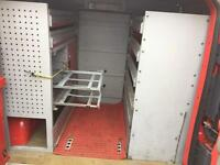 Metal Van Racking Storage