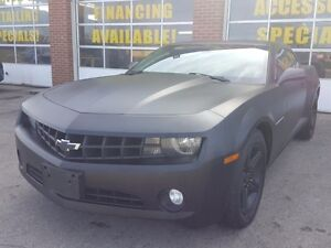 2010 Chevrolet Camaro 1LT, WRAPED