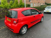 2008 (58) chevrolet aveo 1.2 mot for 7 months only done 200 miles since mot central locking