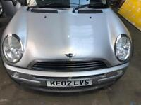 Bmw Mini One cooper breaking r50 r53 all parts available