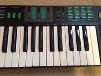  Yamaha PSR-22 Electronic FM Synth DX Style Synthesizer Organ Keyboard Drum Machine Piano learning