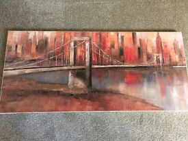 2 New York Skyline canvas's
