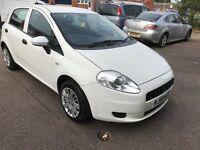 2009 fiat grande Punto 1.4 5 door only 56k 12 months mot/3 months parts and labour warranty