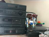 Sony LBT-D109 CD TAPE VINYL PLAYER