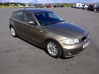 BMW 1 Series 118d Diesel, full leather seats, New sports suspensions, low mileage,Swap/PX