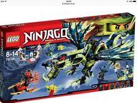 Lego ninja go set 70736 used in box £30.00