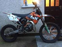 Ktm 85 big wheel 07 yz rm kx cr
