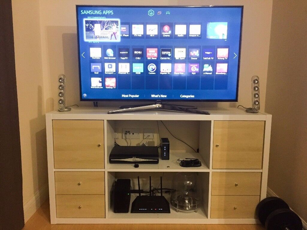 Ikea Credenza Tv Stand : Ikea kallax tv stand shelving unit in bethnal green london