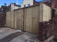 Driveway gates garden gates wooden gate