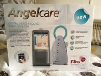 ANGELCARE DIGITAL VIDEO & SOUND BABY MONITOR - AC1120